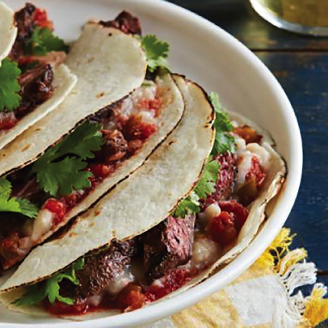 ranchers reserve beef steak soft tacos