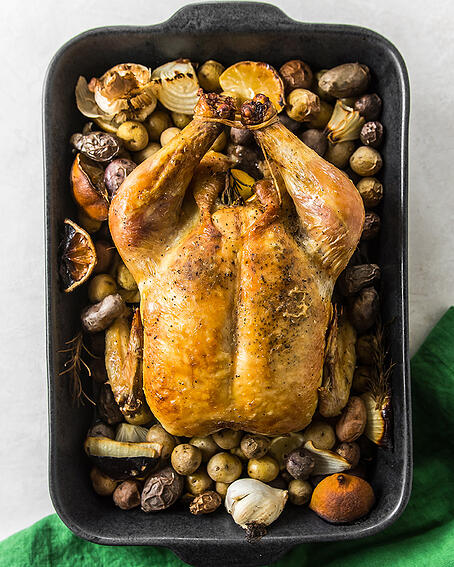 Lemon Bacon Roasted Chicken and Potatoes 1 (1 of 1)