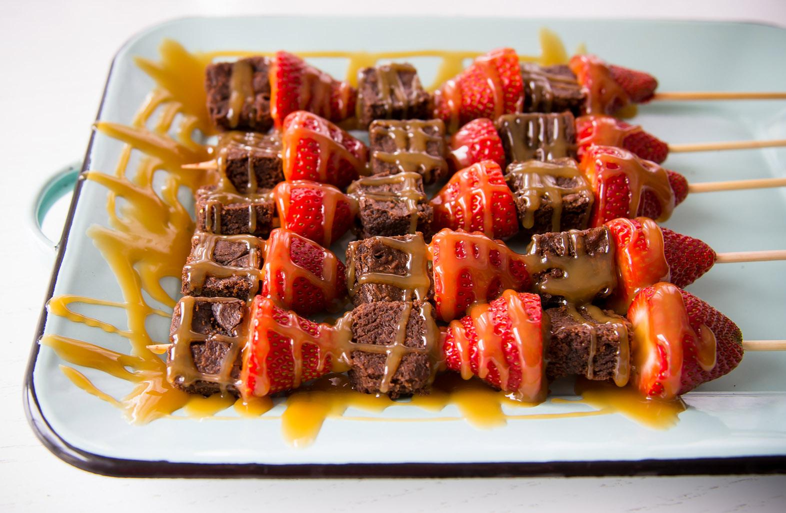 Brownie Strawberry Skewers 3 (1 of 1)